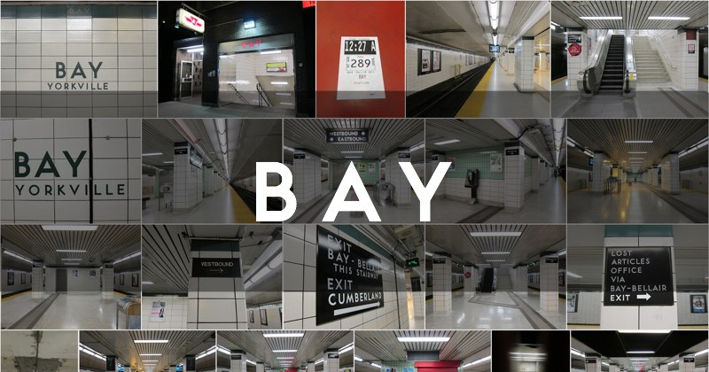 Bay station photo gallery