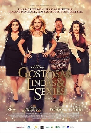 Gostosas, Lindas e Sexies Torrent Nacional 720p HD HDTV