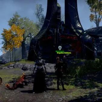 Mirri Elendis outside of Doomvault Vulpinaz