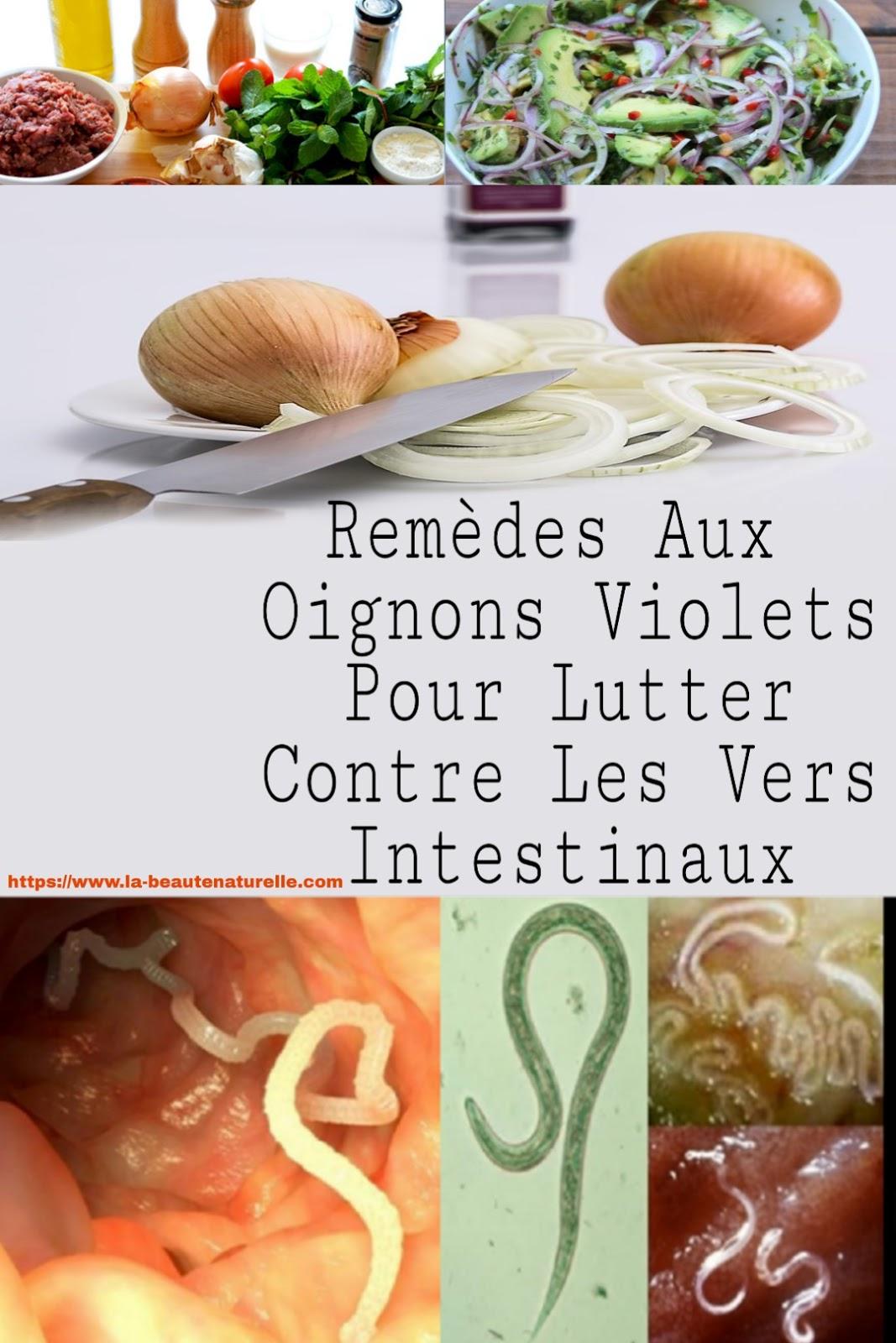 Remèdes Aux Oignons Violets Pour Lutter Contre Les Vers Intestinaux