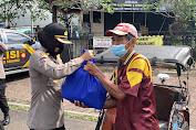 Puluhan Tukang Becak Di Purbalingga Terima Bansos