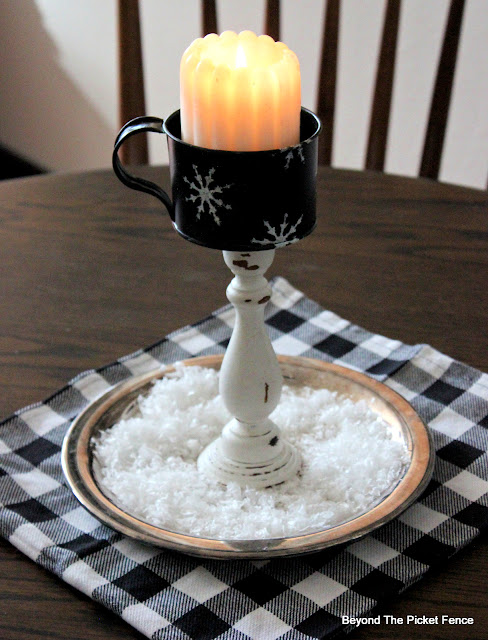 Repurposed Candlestick
