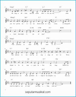 chord desafinado / slightly out of tune 2 lagu jazz standar