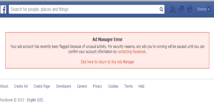 What To Do If Facebook Ad Account Is Disabled?