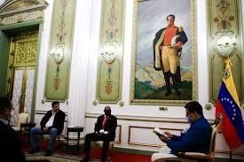 Nicolás Maduro Moros, sostiene encuentro bilateral con el presidente del Grupo Parlamentario de Amistad México-Venezuela.