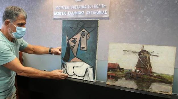 Polizia greca ritrova un quadro di Picasso rubato nel 2012