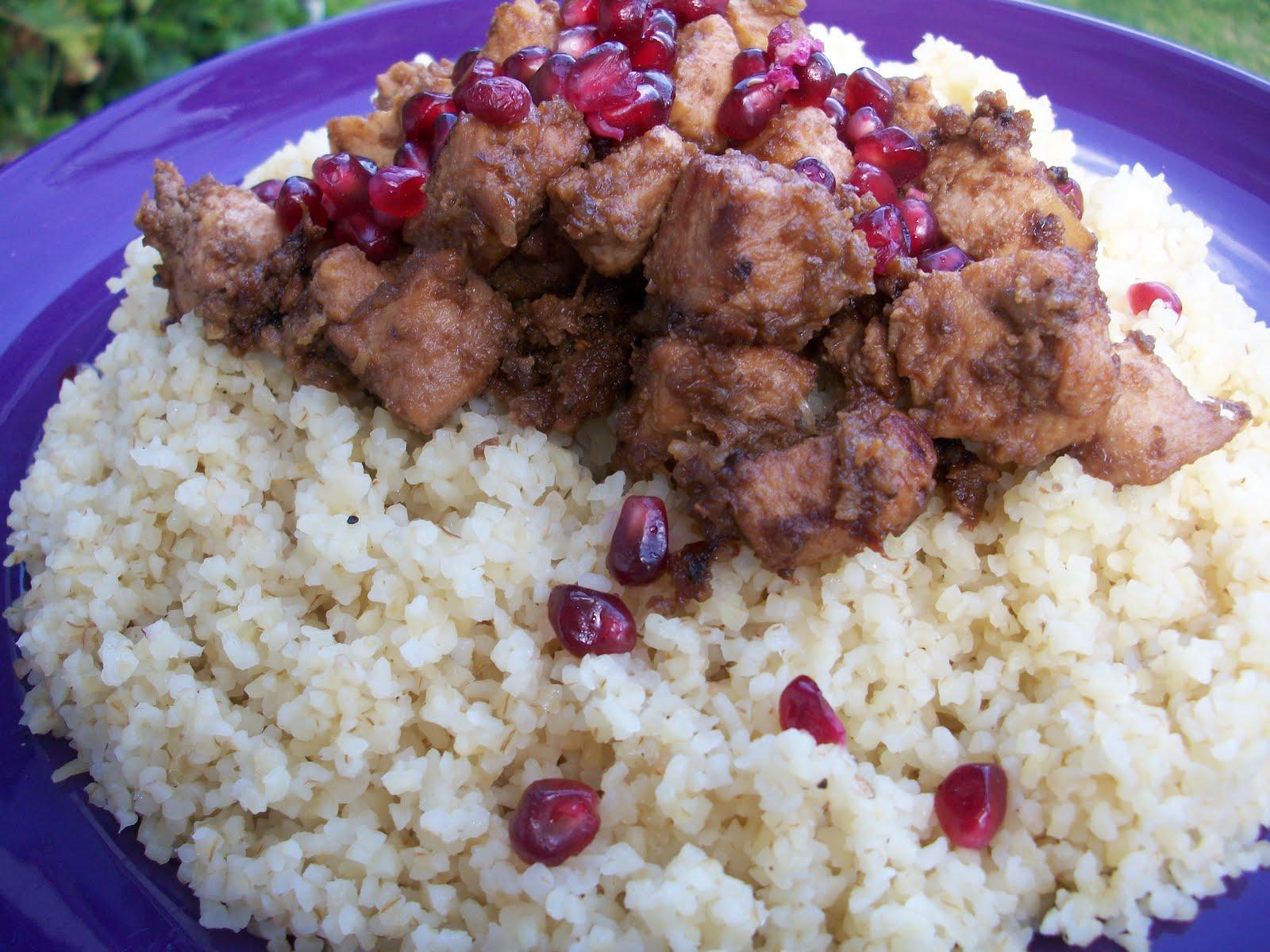 Pomegranates and Zaatar: Persian Pomegranate Chicken Stew ... Persian Pomegranate Stew