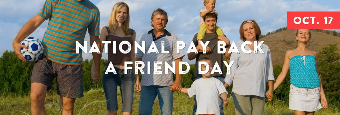 National Pay Back a Friend Day Wishes Images