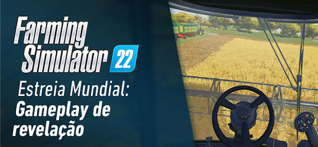 Assista à estreia do Farming Simulator 22 com muitos novos detalhes!