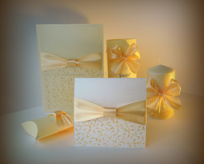 Beautiful elegant original wedding invitations.