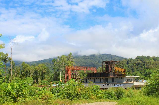 Dinas ESDM Papua: PT Jichuan Tidak Punya Izin Menambang Pakai Kapal Keruk