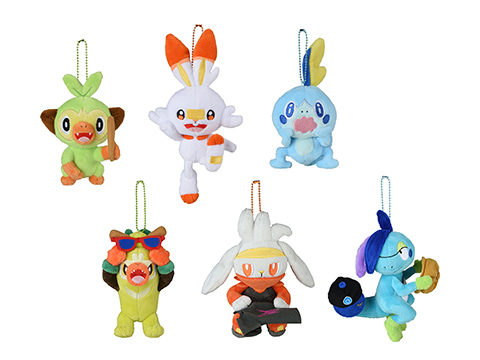 Pelúcia Pokémon Inicial Galar