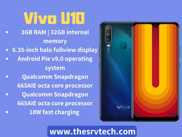 Top 5 Best Smartphone Under 10000 In Hindi 2020 Vivo U10