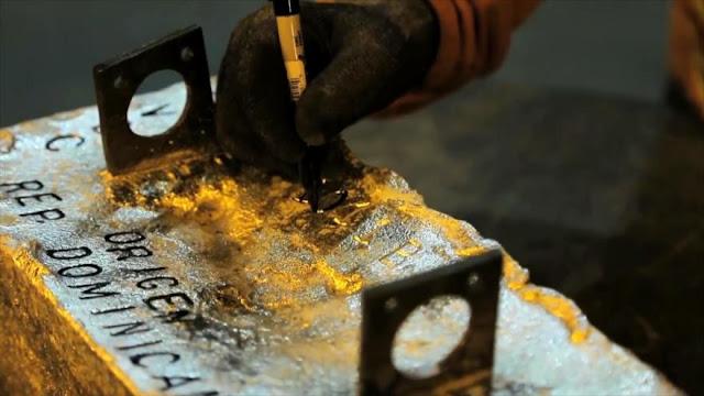 Aumentos del oro impulsarán economía de República Dominicana