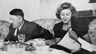Hitler and his wife