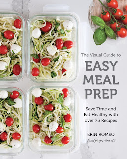 review of Erin Romeo's The Visual Guide to Easy Meal Prep