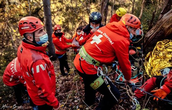 O nouă sesiune de reatestare a salvatorilor montani a avut loc la Vatra Dornei