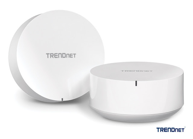 TRENDnet launches high-performance WiFi Mesh Router System for simple, whole home WiFi coverage