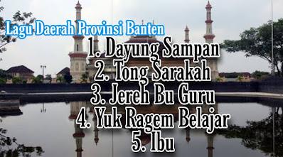Lagu daerah Banten