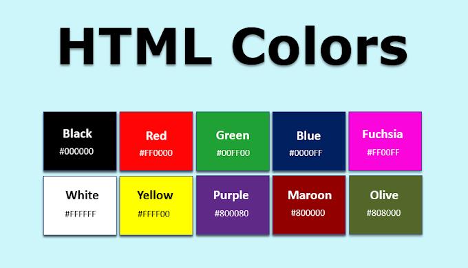 Kode Warna HTML CSS Lengkap Full Color dan Tips Memilah Warna