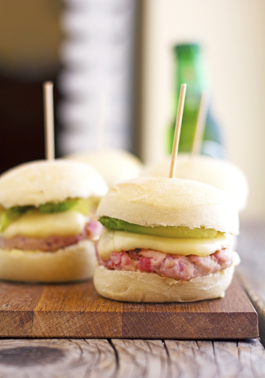 Turkey and Avocado Sliders