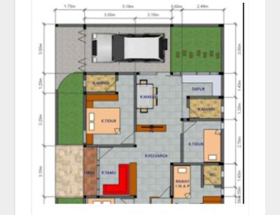 rancangan rumah minimalis modern