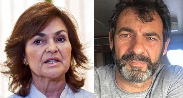 El fundador de la ONG Open Arms compara a Carmen Calvo con Salvini