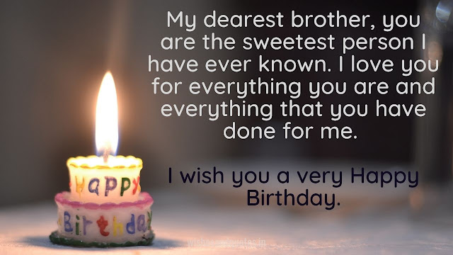 heart touching bday wishes for brother