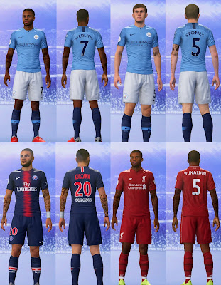 FIFA 19 Tattoopack vol 4 by CrazyRabbit