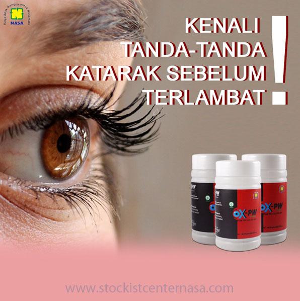 OX PW Nasa Obat Herbal Untuk Mata Katarak & Mata Plus