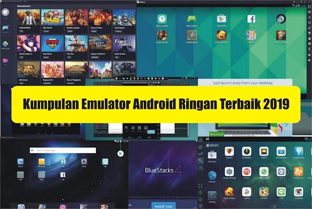 Kumpulan Emulator Android Paling Ringan & Cepat Cocok Untuk Youtuber Gaming PC/Laptop 2019