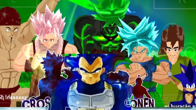 New Tenkaichi Tag team Anime Crossover Mod Download