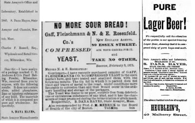 Newspaper ads with Hayes' endorsement