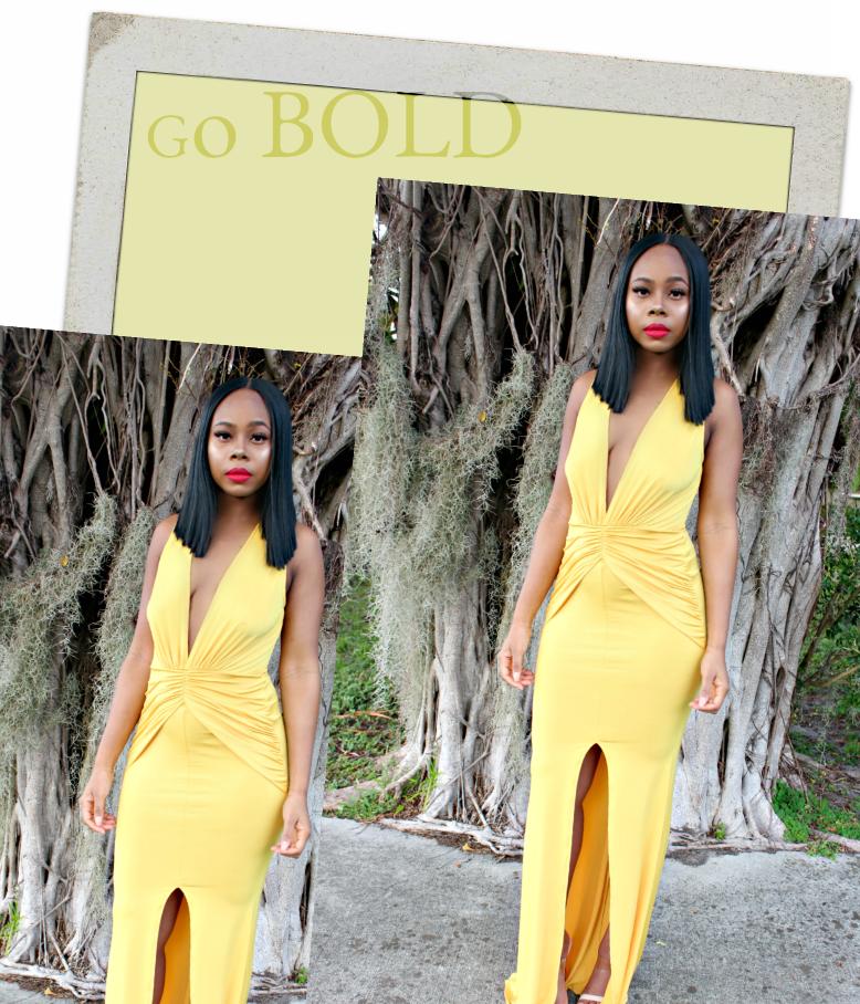 Yellow/ Fashion Trends/ Boutique Sales Chic/ Anastasia Dress/ Sale