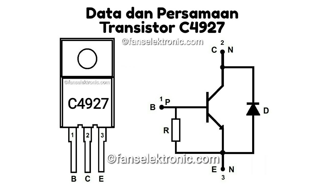 Persamaan Transistor C4927