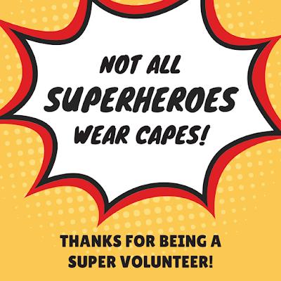 superhero volunteer appreciation image