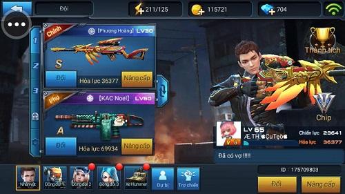 Nâng cấp vũ khí, trang bị, giúp người chơi trở nên mạnh mẽ hơn trên chiến trường