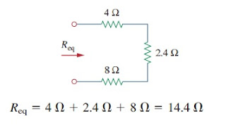 parallel resistors connection current divider