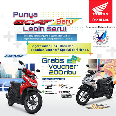 promo murah sepeda motor honda banyuwangi