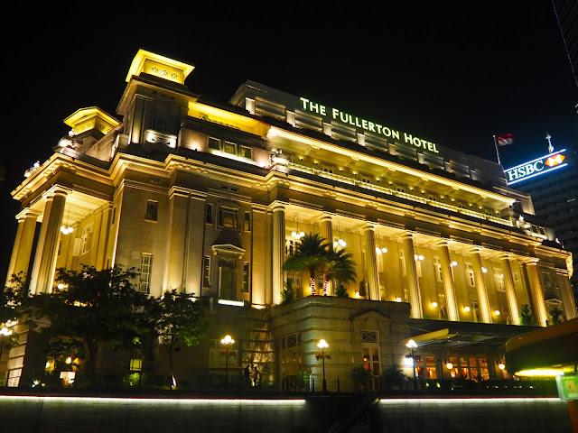 Fullerton Hotel, Rafflles Place, Singapore