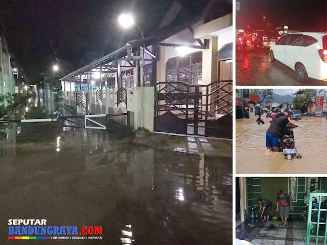Ketika Banjir Bandung Akhir Maret 2020 Tenggelam oleh Wabah Virus Korona