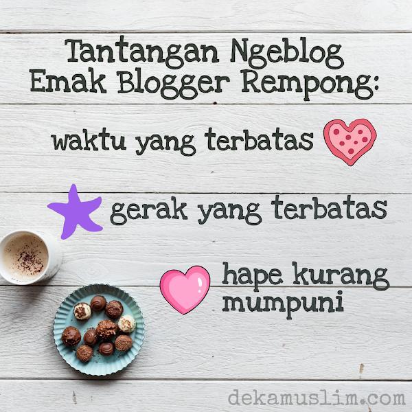 Smartphone Idaman Emak Blogger Rempong