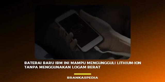 baterai baru ibm