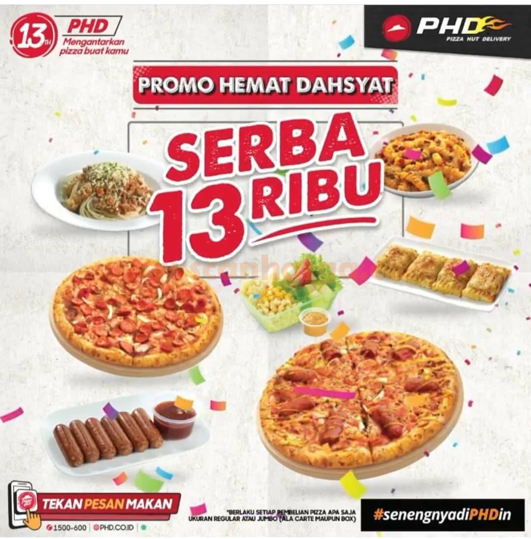 Promo PHD Serba 13 Ribu Hemat Dahsyat - Spesial Ulang Tahun PHD ke13