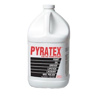 Pyratex Cara Menghilangkan noda Pakaian dengan beberapa kali Gosok langsung Hilang