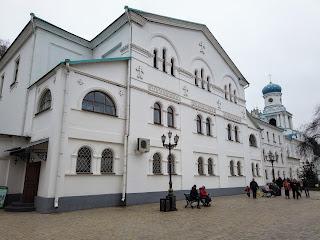 Святогорск. Свято-Успенская лавра. Трапезная и музей