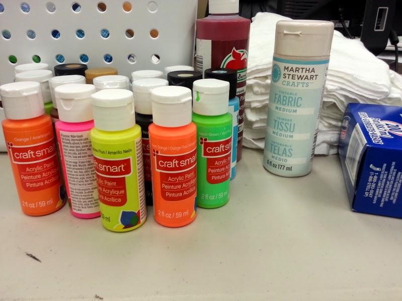 Block Printing With Craft Foam