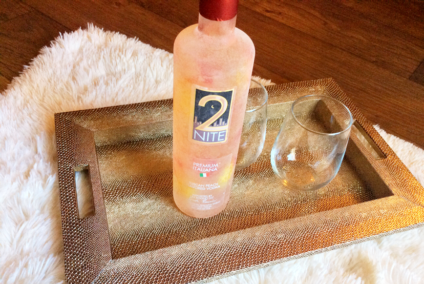 2Nite Tuscan Peach is a non-GMO light to medium bodied vodka with hints of peach sorbet.