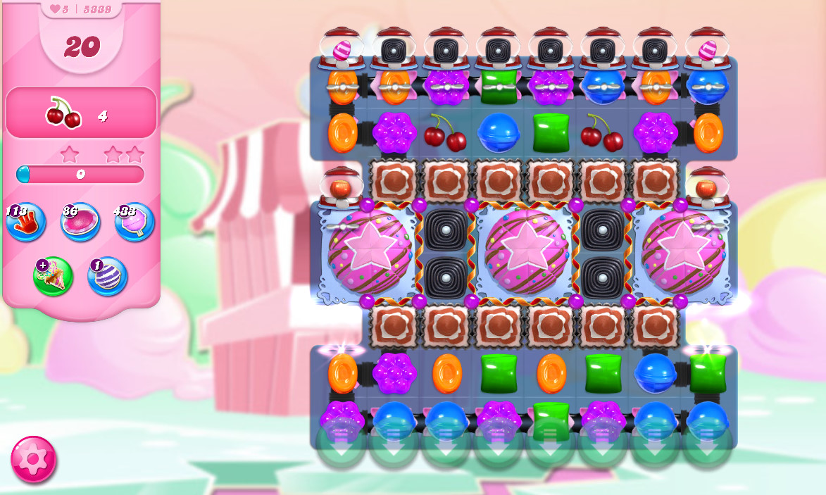 Candy Crush Saga level 5339