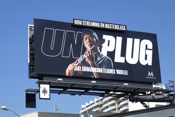 MasterClass Unplug Jake Shimabukuro billboard